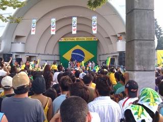 Brazil festival in Yoyogi Park